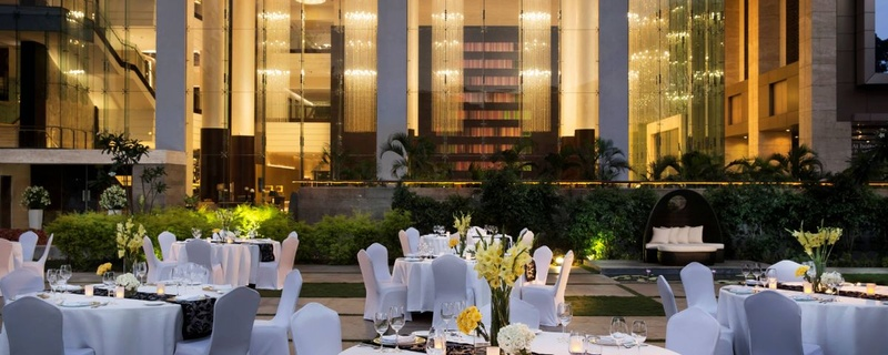 Plush wedding venues in Bangalore with prices starting at 600/-PP