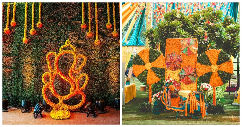 10 Genda Phool Wedding Decor Ideas To Inspire You Blog