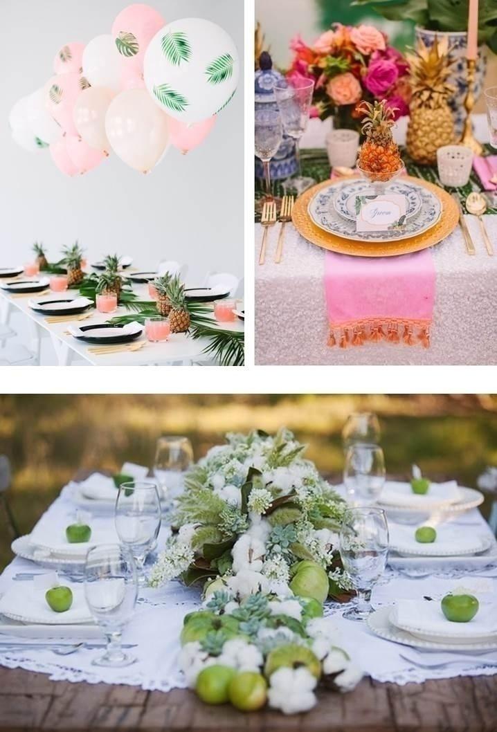 FRUIT BASED WEDDING TABLE SETTINGS