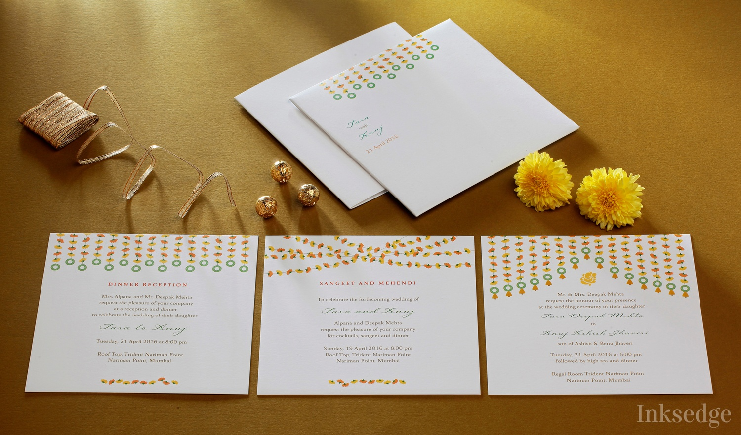 Inksedge wedding invitation card in bangalore weddingz for Wedding invitation cards bangalore jayanagar