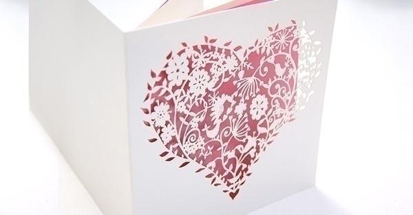 Classic Laser Cut Wedding Invitations