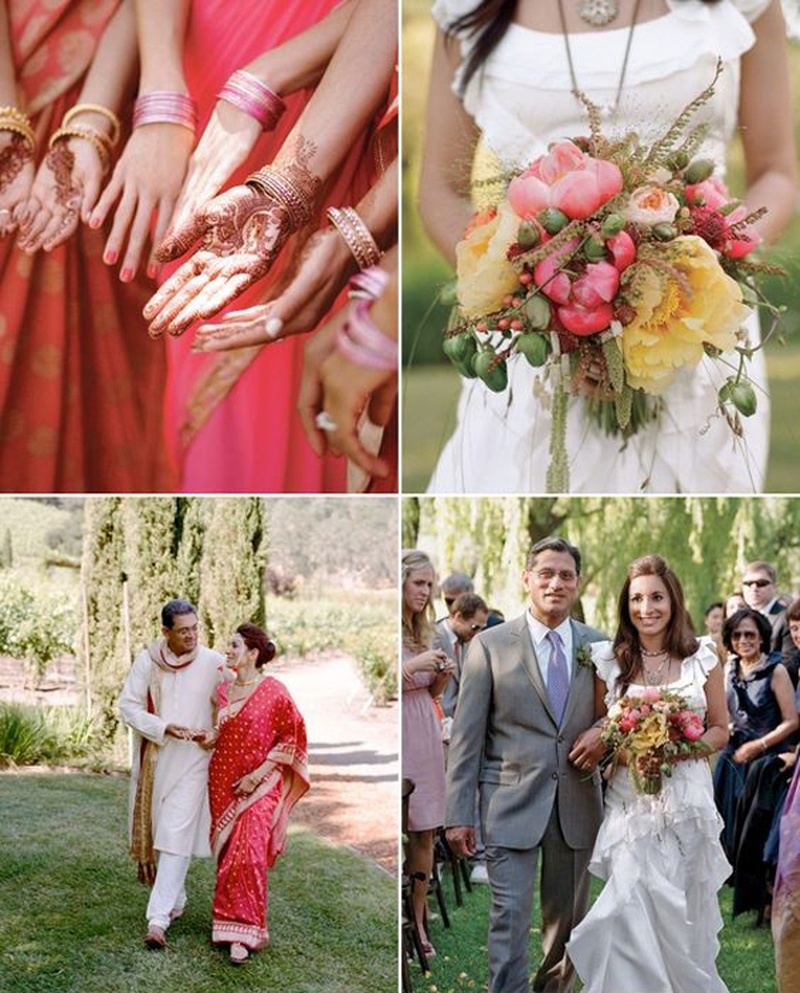 How to Blend Western Wedding Ideas in Traditional Indian Wedding Celebrations?