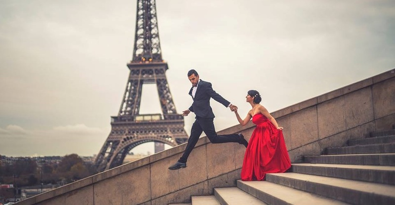 This Pre-Wedding Shoot In Paris Is Setting Goals For Every Romantic Couple Out There!
