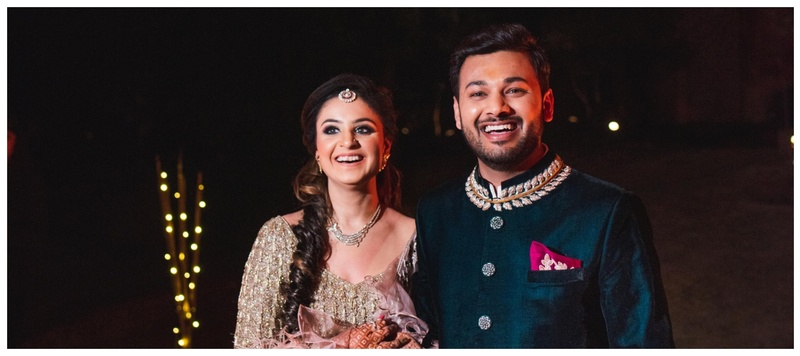 Sanchit & Aashika Delhi : An array of super fun themes, vibrant outfits and unmatched enthusiasm- this wedding is major goals!