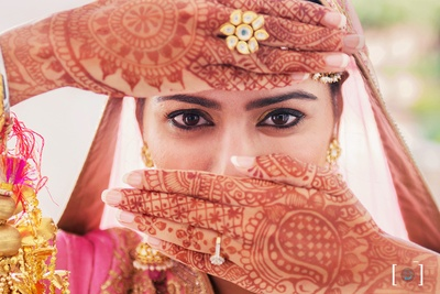Bridal photography by Dhanika Choksi.