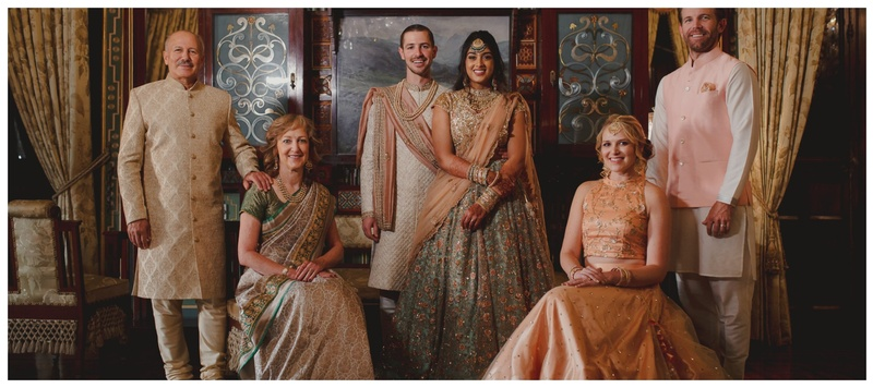 Brett & Ashna Hyderabad : This regal wedding with a minimalist bride and a cutie firang groom will leave your spellbound!