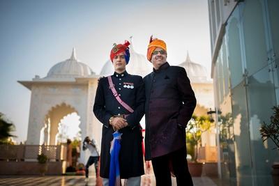 Royal wedding attire for men