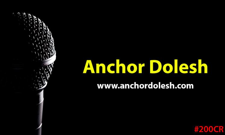Anchor Dolesh | Mumbai | Anchor Mc