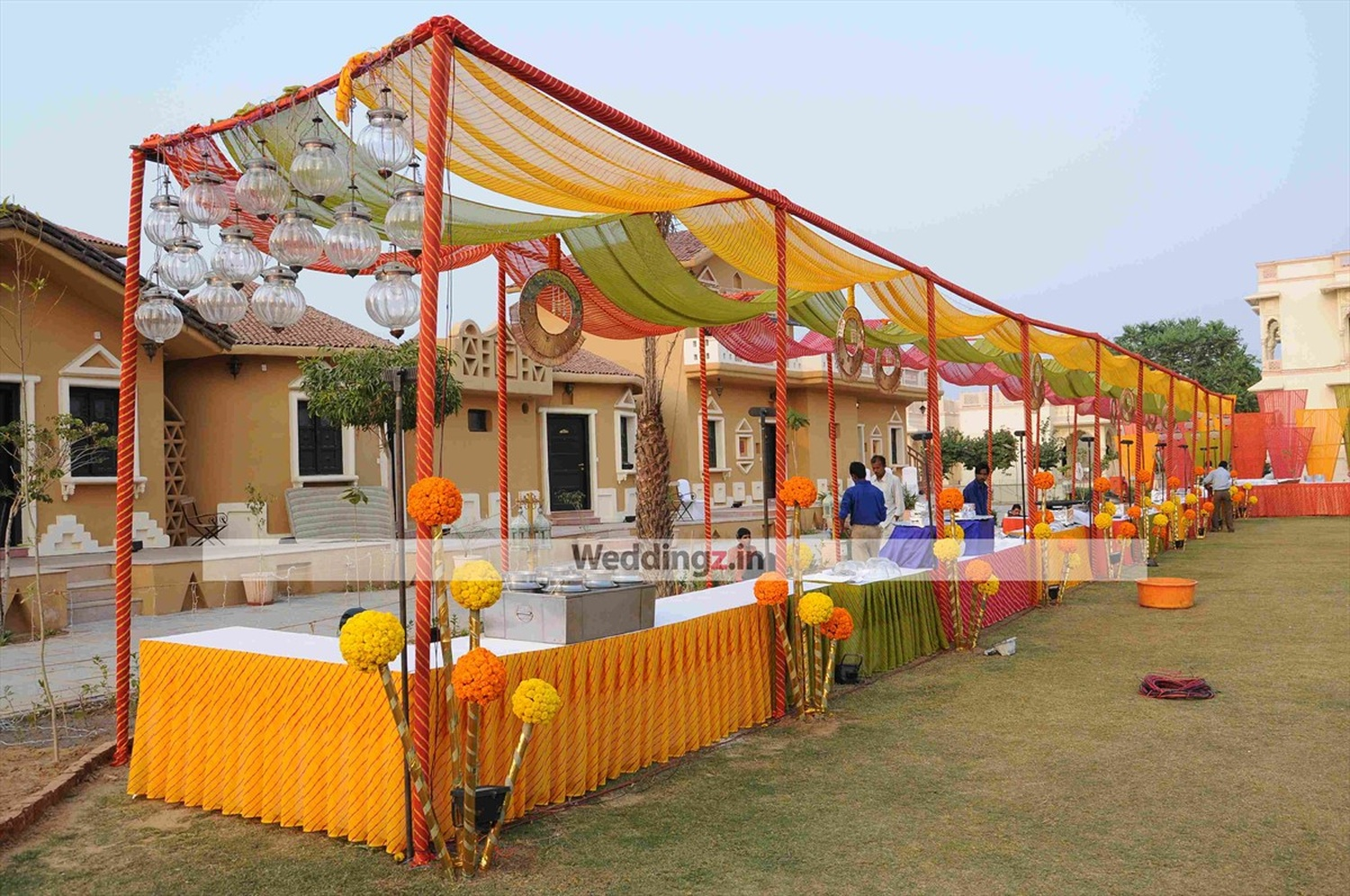 Jamway tent house wedding decorator in jaipur weddingz for Tent a house
