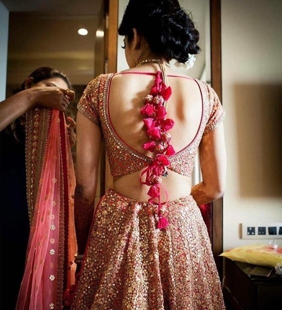 best blouse neck designs and patterns for 2018 indian wedding blog