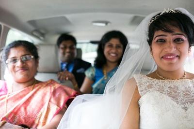 Sweet heart illusion neckline white wedding dress