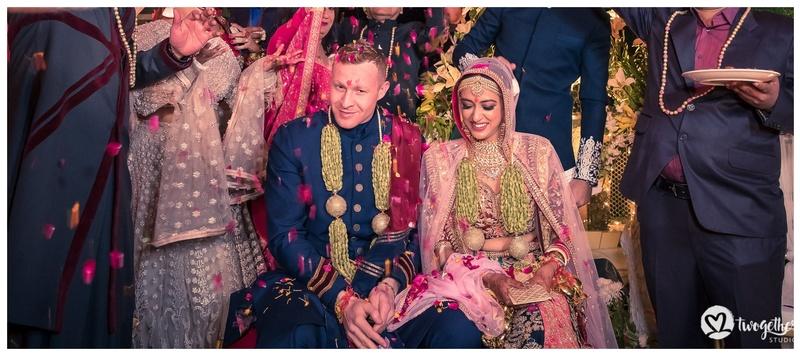 Kurt & Isha Mussoorie : This desi bride &  firang groom's destination wedding in Mussoorie has the most fun & quirky photos!