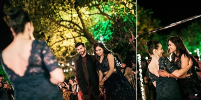 Some moments from the sangeet