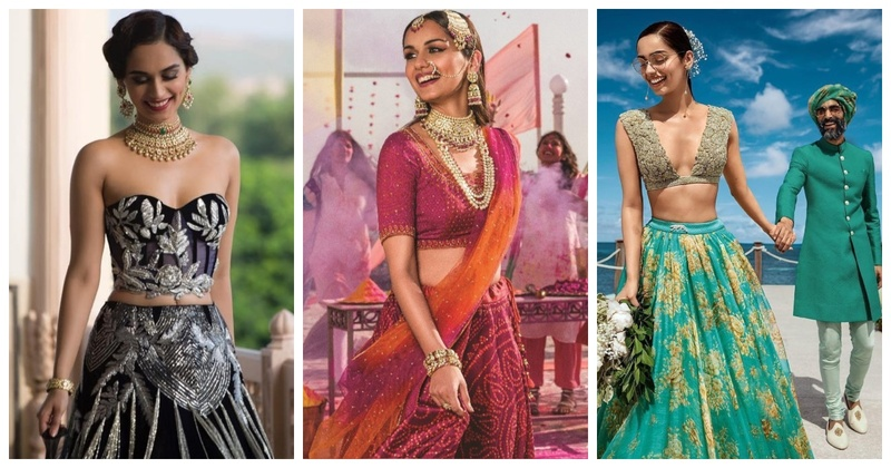 Take a cue from Manushi Chhillar when you are suffering through the wedding wardrobe crisis!