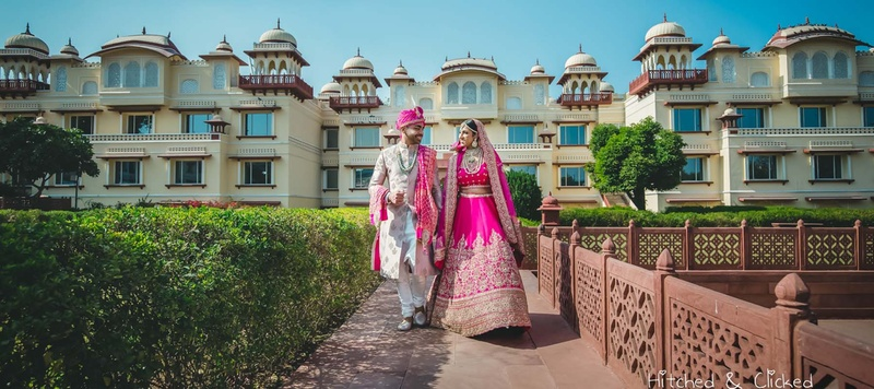 Tushaar & Garima Jaipur :  Garima and Tushaar just had the most beautiful 'pink' wedding at Taj Mahal Palace, Jaipur!