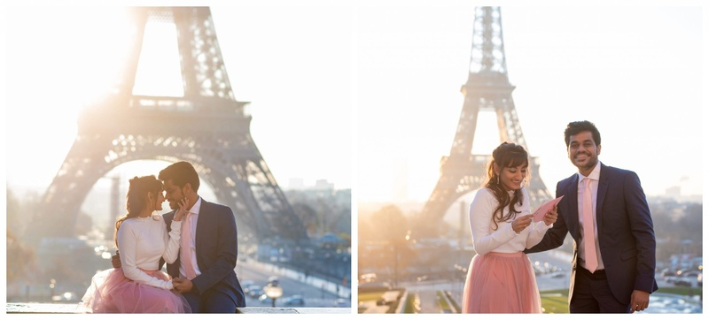 A Proposal in Paris: Prerna and Ankur's New Beginnings