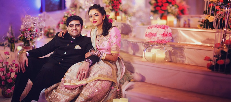 Vinay & Meha Bangalore : The wedding was a little more on the traditional side but the abundant happiness was present!