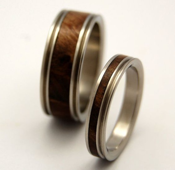 Forest Themed Wedding Bands