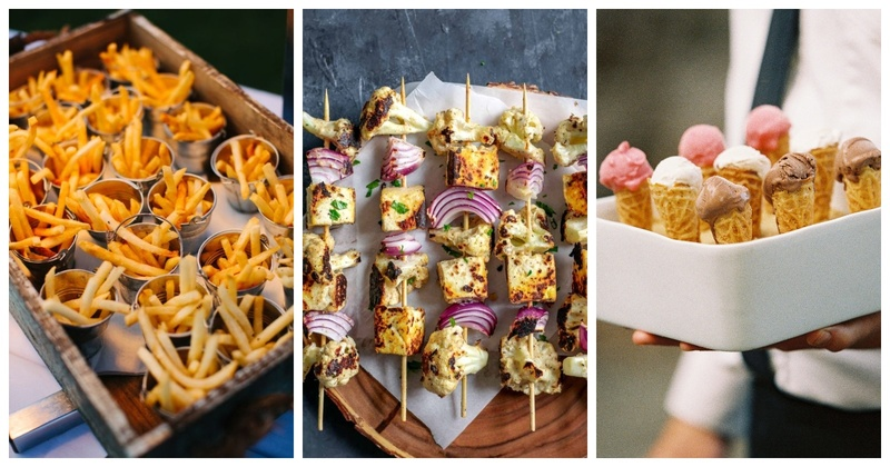 8 Non-Messy Food Ideas for your Pre-wedding Pool Party