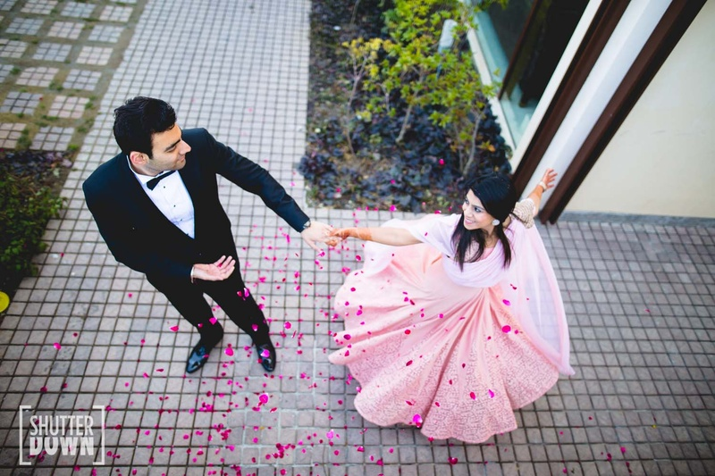 10+ Real Brides And Their Bridal Lehenga Twirls That Are #WayTooPretty !