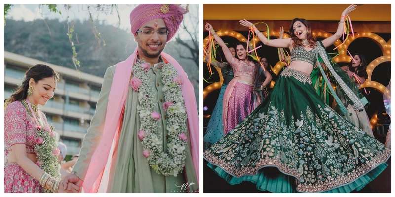 Anita Dongre's son recently tied the knot to his longtime girlfriend and you've got to check out the pictures!