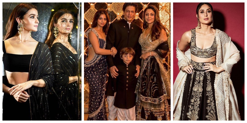 From Alia Bhatt to Kareena Kapoor - here the deets of who wore what at SRK's Diwali Party! #ShaadiWearGoals