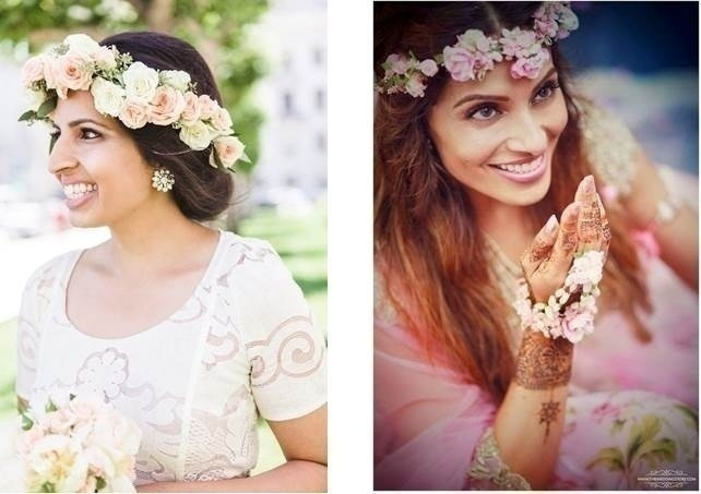 Flower Crowns. Accessorize your hair with colourful florals.