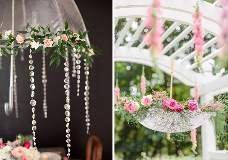 How to Use Umbrellas for Wedding Decor in a Fun, Quirky and Chic Way?