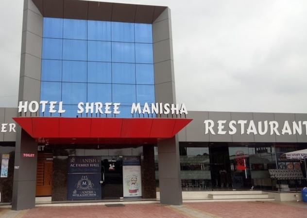 Hotel Shri Manisha Kamrej Surat - Banquet Hall