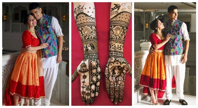 Shweta Tripathi, the bubbly actress from 'Masaan' is engaged & her mehndi design is ruling the internet!