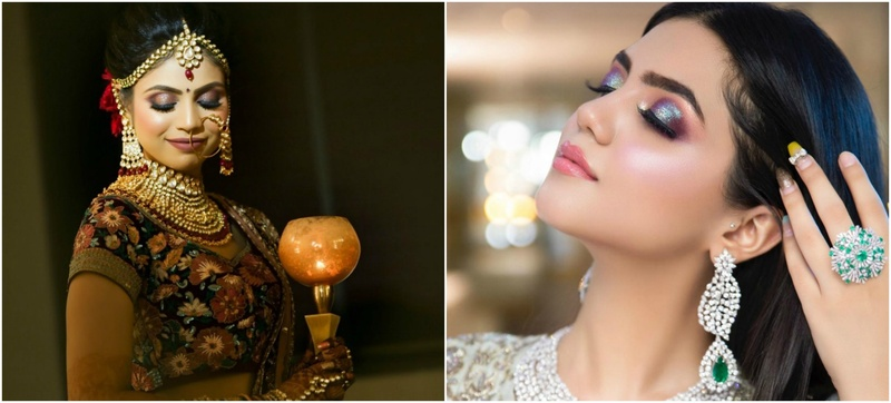 Ace Every Wedding Function Look With A Stellar Makeup Artist