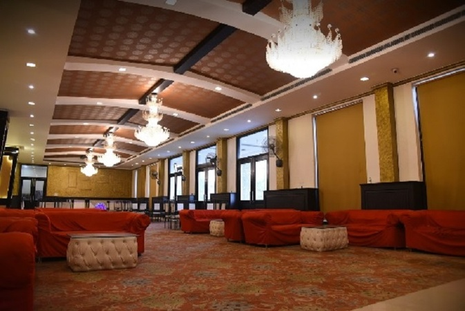 Golden Palms Resort Partapur Meerut - Banquet Hall