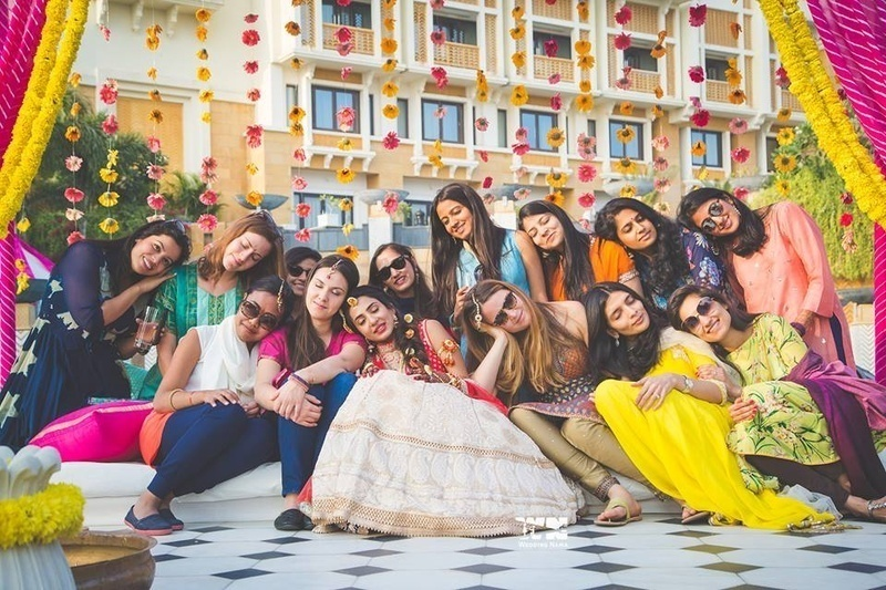 4. When your bridesmaids 'are just done' moment:​