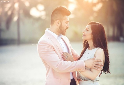 Whimsical pre wedding shoot by Shades Photography India.