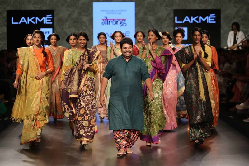 Bridal Trousseau Trunk Treasures from Gaurang Shah's Calico – Lakme Fashion Week 2016