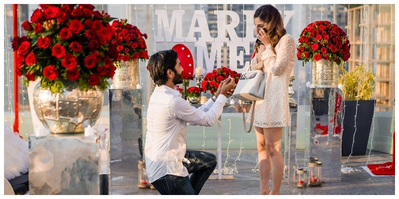 Ronak's surprise proposal under a thousand fairy lights to Isha! #WzExclusive