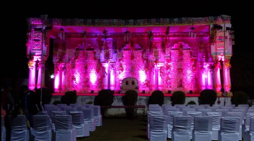B M Vilas Marriage Garden Mansarovar Jaipur - Banquet Hall