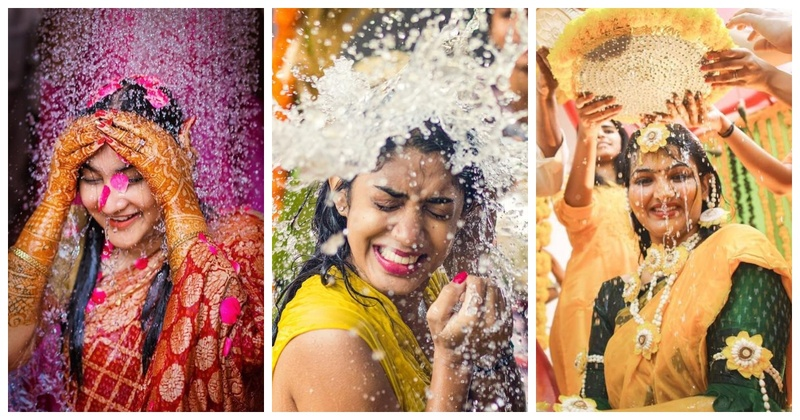 10 adorable Mangala Snanam ceremony pictures you wouldn't want to miss!