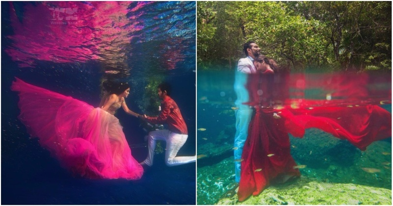 This Underwater Wedding Trend Is Taking Over Indian Weddings