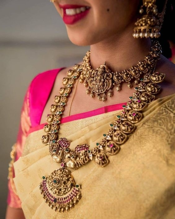10 Gorgeous Temple Jewellery Designs for 2019 brides! - Blog