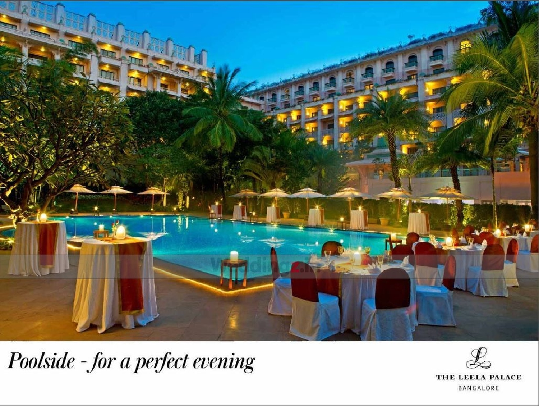 The Leela Palace Kodihalli Bangalore Banquet Hall 5 Star Wedding Hotel Weddingz In