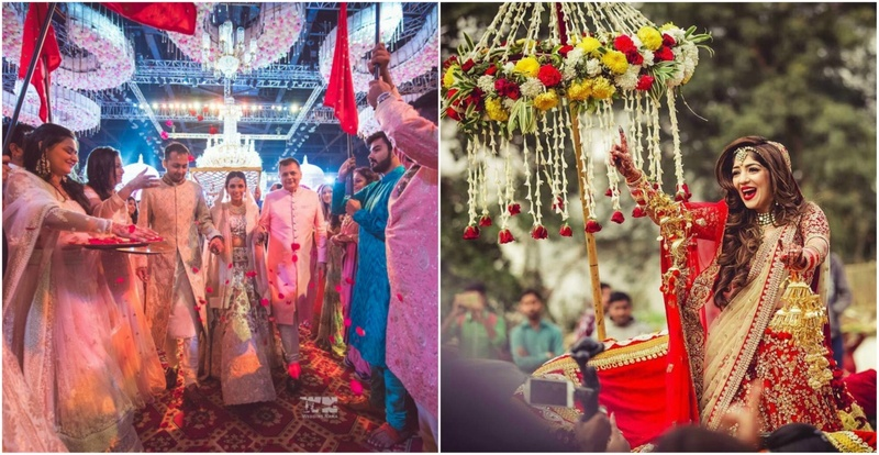 6 Unique Bridal Entries That Will Make Heads Turn At Your Wedding!