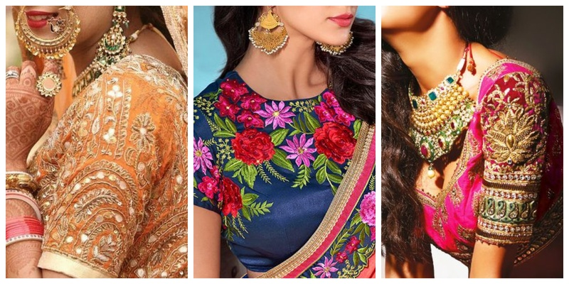 10 blouse embroidery designs to check out this wedding season!