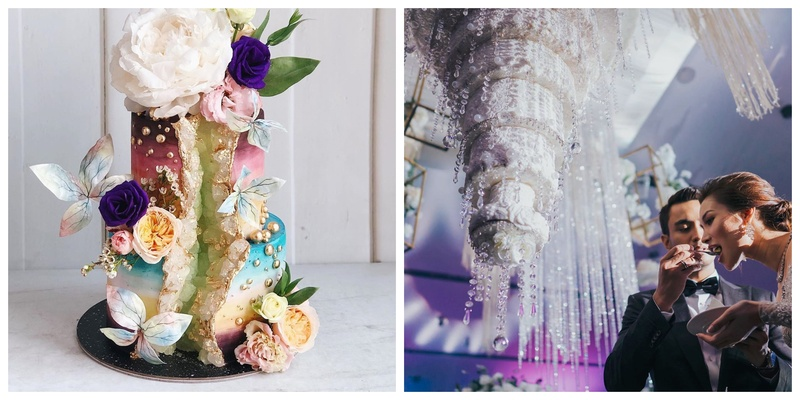 5 Stunning Wedding Cakes we Recently Came Across!