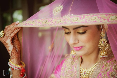 Bridal photography by Dhanika Choksi Photography.