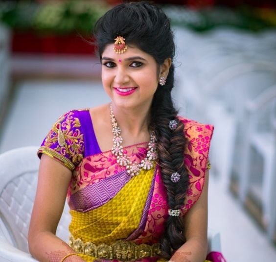 Hairstyle On Saree For Wedding: 40 Gorgeous Bridal Hairstyles To Slay Your Wedding Look