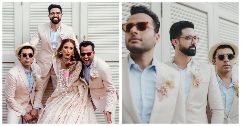 10 Brides who Picked Bridesmen over Bridesmaids!