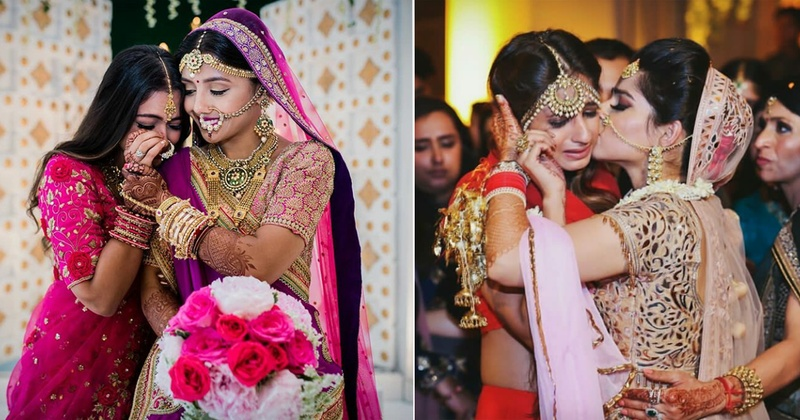 The Most Heart Warming Vidaai Pictures That We've Come Across!