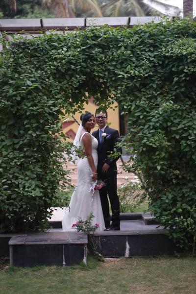 The wedding portrait post wedding ceremonies