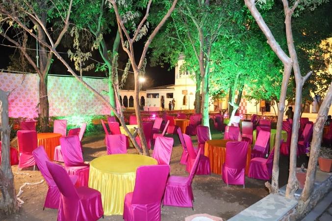 Cafe Clock Town Resort Badi Lake Road Udaipur - Banquet Hall